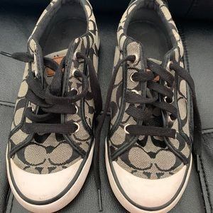 Authentic Coach Womens size 6 1/2 sneakers